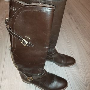Dumond leather riding boots